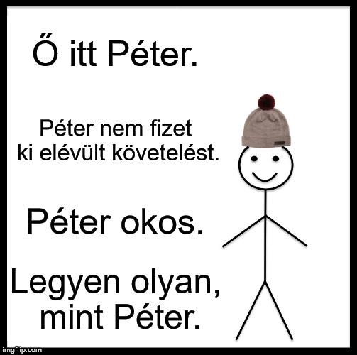 Péter nem fizet ki elévült követelést